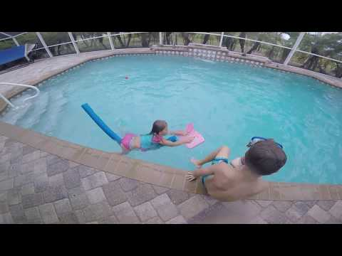 A little too much fun at the baseball game | Swimming | Florida