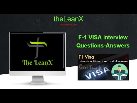 F1 USA Student VISA Interview Questions And Answers(Top 50)
