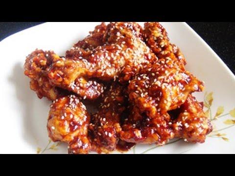 Korean Fried Chicken Recipe Youtube
