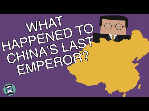 What Happened To The Last Emperor Of China? (Short Animated Documentary)