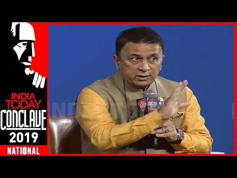 Best Thing For Virat Is That He Has Got MS Dhoni: Sunil Gavaskar | India Today Conclave 2019