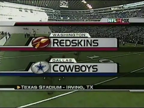 [Highlight] On This Day In 2002- Emmitt Smith's 83rd and last 100 yard rushing game with the Cowboys (144 Yards on 23 Carries). It also featured a godawful Washington timeout that JaguarGator9 did a story on.