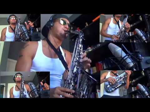 The Weeknd ft. Daft Punk - STARBOY - charlez360 Alto Saxophone