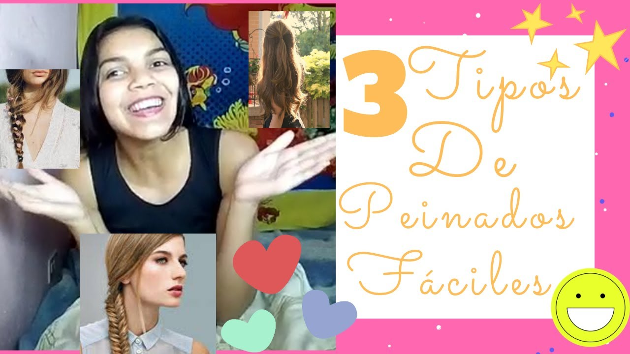 Imagen perfecta peinados super faciles Imagen De Consejos De Color De Pelo - 3 Peinados Súper Fáciles♥♥ - YouTube