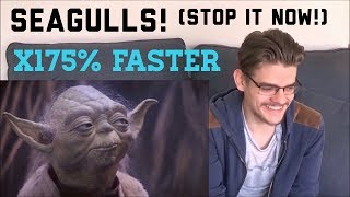 """Try Not to Laugh With James Dunn at """"Seagulls! (Stop it Now!) x175% Faster"""