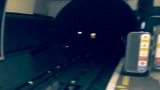 KightsBridge station U.K Jumping man ghost caught on camera