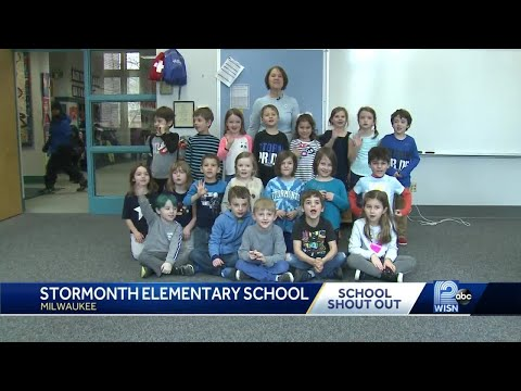 2/10 School shout out: Stormonth Elementary School