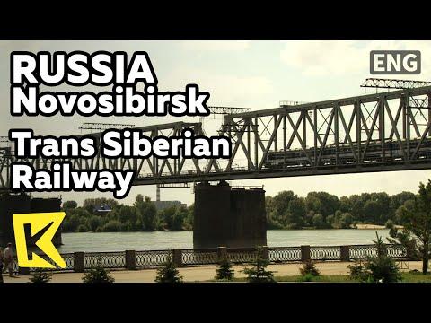 【K】Russia Travel-Novosibirsk[러시아 여행-노보시비르스크]시베리아 횡단 철도 풍경/River/Trans Siberian Railway/Eternal Flame