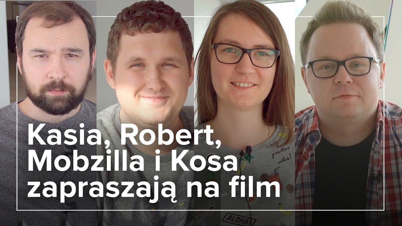 Robert, Kosa, Kasia i Mobzilla o laptopach #projektlaptop