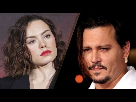 Daisy Ridley Wants Johnny Depp to BACK OFF