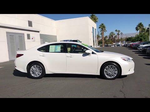 2015 Lexus ES Palm Springs, Palm Desert, Cathedral City, Coachella Valley, Indio, CA 209245