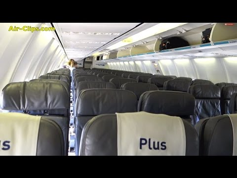 WestJet Boeing 737-700 Plus Class from Edmonton to Vancouver! By [AirClips full flight series]