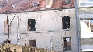 Saint-Denis: les premières images du bâtiment après l