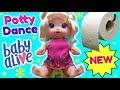 Baby Alive Potty Dance Baby!  BRAND NEW BABY ALIVE DOLL!  2018 Baby Alive Potty Training Doll