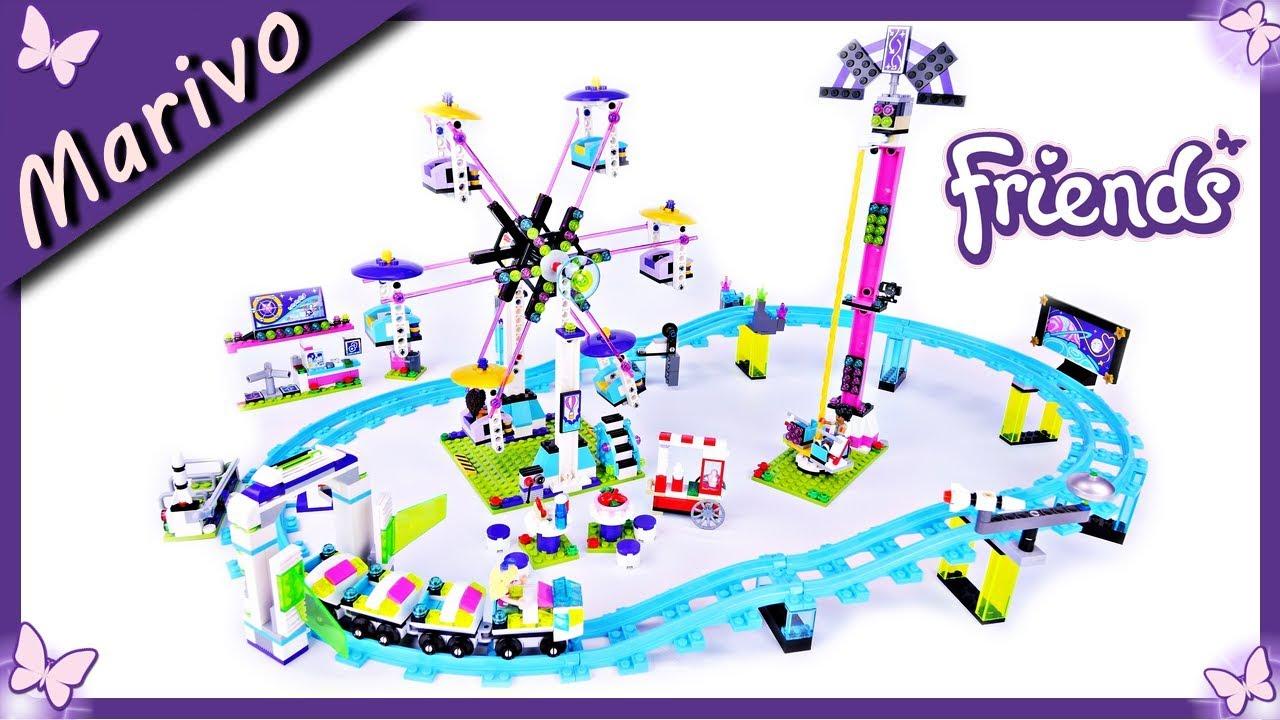 Lego Friends 41130 Kolejka Górska Układamy Klocki I Bawimy Się