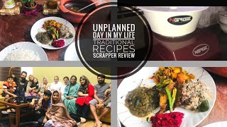 Unplanned Day in my life✓ Recipes of Breakfast & Lunch✓Cleaning✓Scrapper review✓TasteTours by Shabna