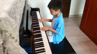 Javon Mok playing Xiong Mao by Li Ying Hai