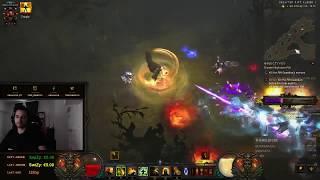 Diablo 3  Season 12 Rank 1 SOLO MONK