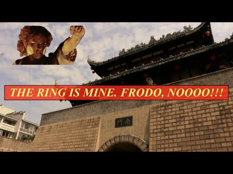 MOUNT DOOM Architecture, Ancient Chinese Street, Unions, and other random stuff
