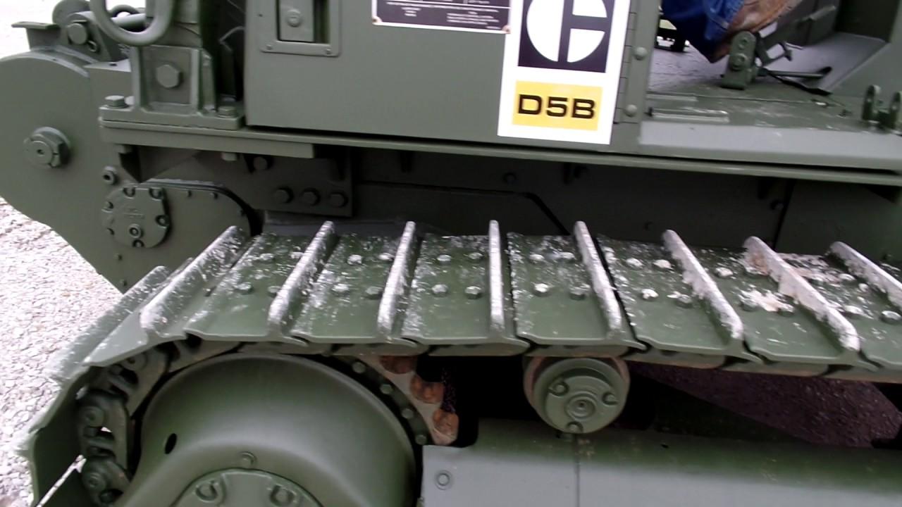 1988 Caterpillar D5B Ex military Dozer C&C Equipment ccsurplus com  812-336-2894