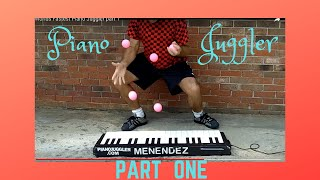 Repeat youtube video Worlds Fastest Piano Juggler part 1