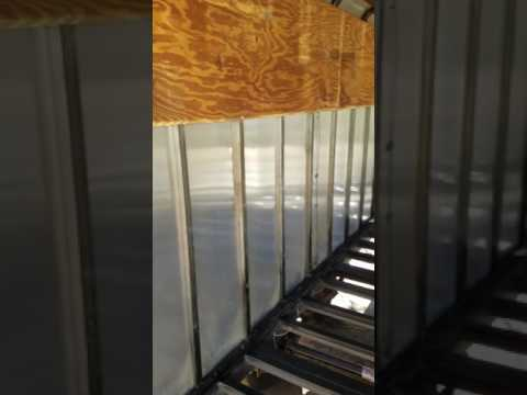 Enclosed trailer renovation part 2