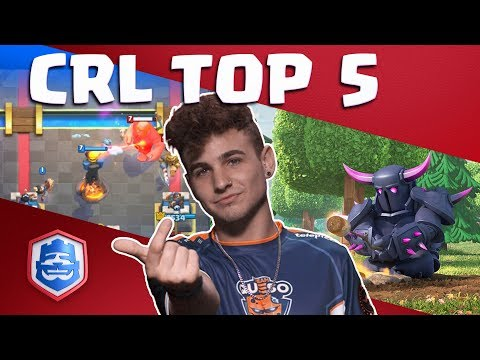 The TOP Five CRL Moments! (Week 3)