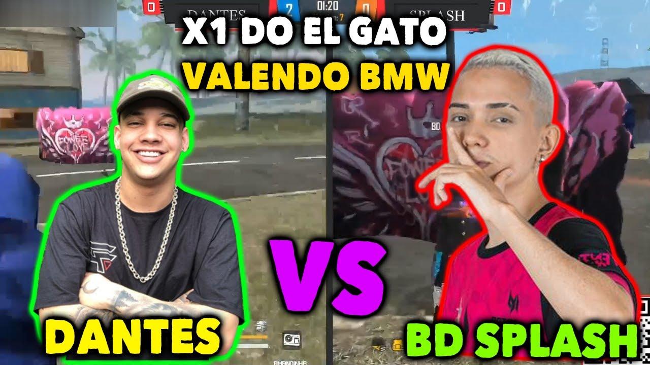 DANTES VS BD SPLASH X1 VALENDO UMA BMW - DANTES ESTÁ DE VOLTA A SUA MELHOR FASE feat: El Gato