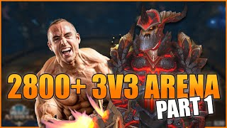 THIS COMP IS INSANE!: 2800+ Warrior 3v3 as WLP (Part 1) - WoW BFA 8.3 Season 4 PvP