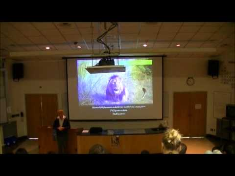 Operation Wallacea Internships - Dr. Tim Coles at Salem State University (10/1/2012) Part 2 of 2