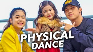 Dua Lipa - PHYSICAL Siblings Dance | Ranz and Niana ft natalia