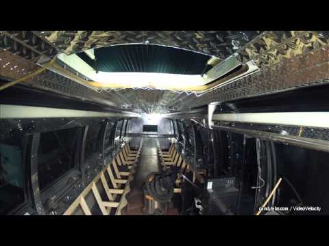 Limo Bus Build Time Lapse