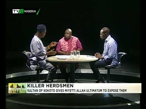Journalists' Hanout 20th April 2018 | Sultan gives Miyetti Allah Ultimatum to expose killer Herders