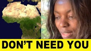 Congolese Woman Says Africa Don't Need African Americans to Build, Just Send Money - Year of Re