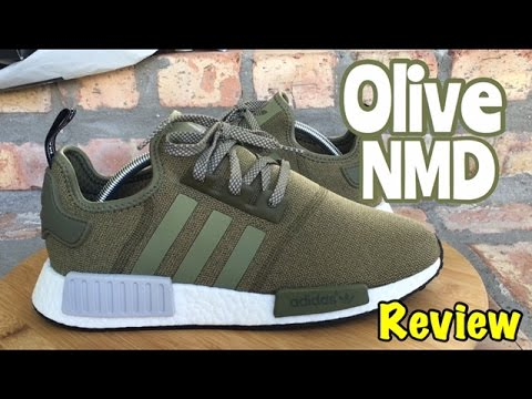 NEW Adidas NMD R1 Olive Green REVIEW