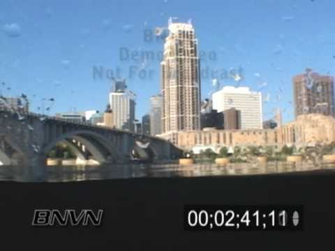 8/3/2007 Mississippi River Underwater Video From Nicollet Island.