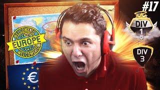 É TUDO EUROPEU PIPOQUEIRO!!!! W2G FC! #17 FIFA 17 ULTIMATE TEAM
