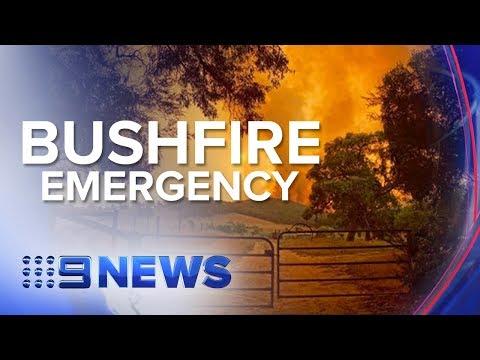 Major bushfires continue to burn across Victoria's east | Nine News Australia