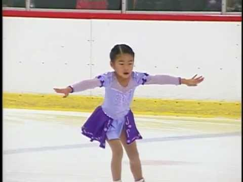 Gamma routine at the ISI Anaheim Ice Skating Open - Age 6