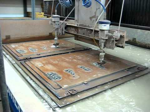 At the McIntosh Factory- Making the Glass Faceplates