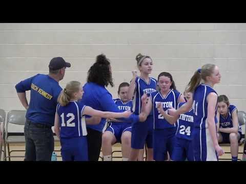 Triton At Argos - 7th Grade Girls Basketball Season Finale 🏀 3-12-2020