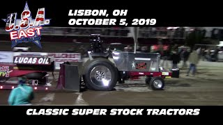10/5/19 USA-East Lisbon, OH Classic Super Stock Tractors