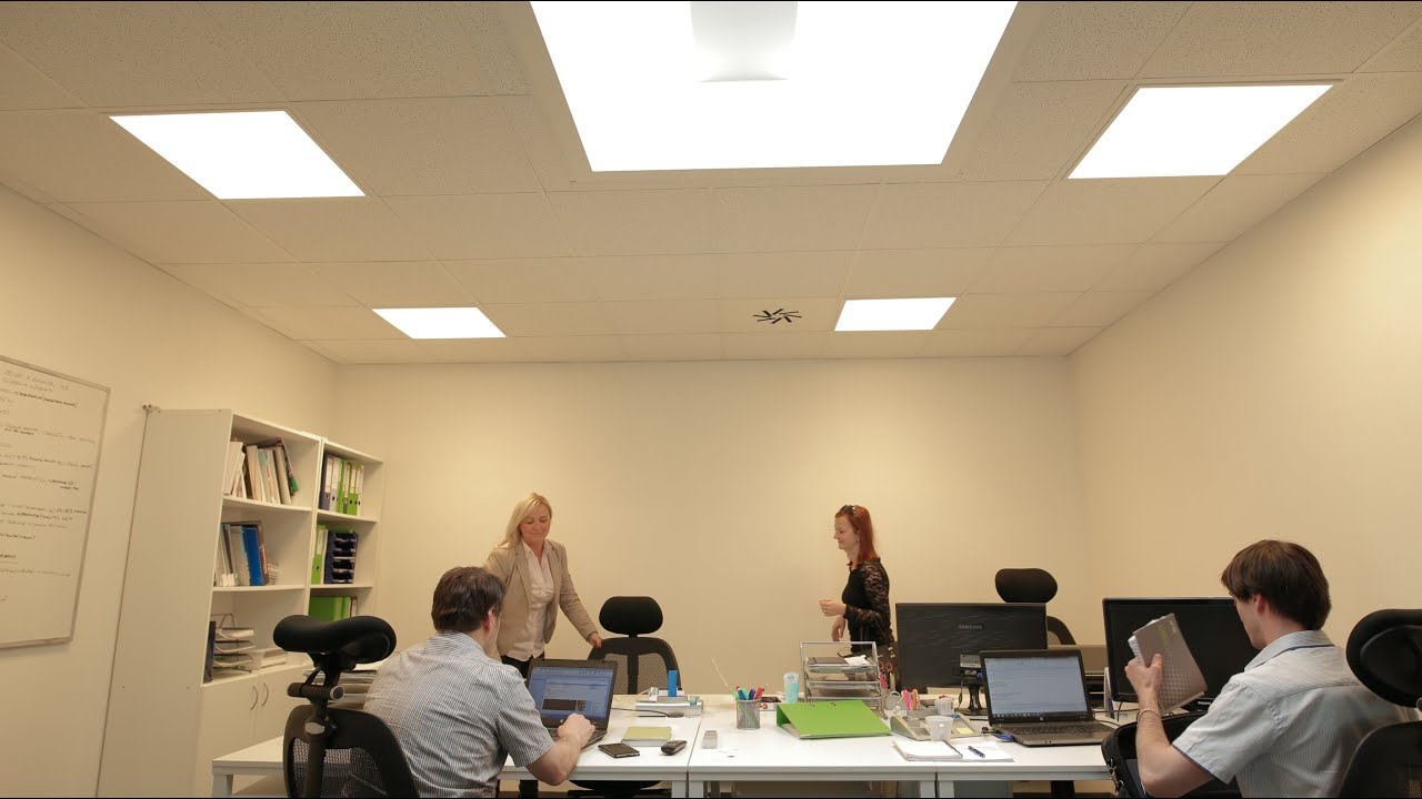 lighting for office. human centric lighting for offices by sle office
