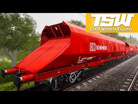 TRAIN SIM WORLD: Great Western Express #6 - DB Schenker in England!