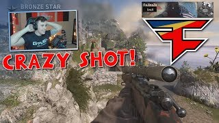 My BEST TRICKSHOT on COD: WW2!! + Clip Highlights