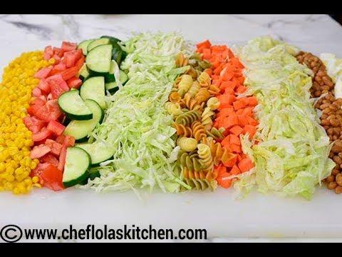 Nigerian Salad - Chef Lola's Kitchen