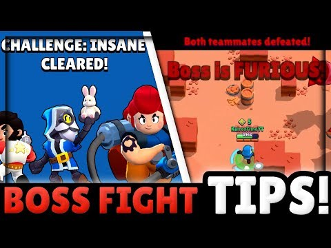 New Boss Fight Spoilers & TIPS!   You won't Believe HOW Many Rounds There ARE in Boss Fight!