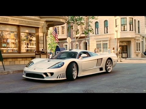 Bruce Almighty (2003) Saleen S7 scene and a hilarious extra – finding the body of Jimmy Hoffa