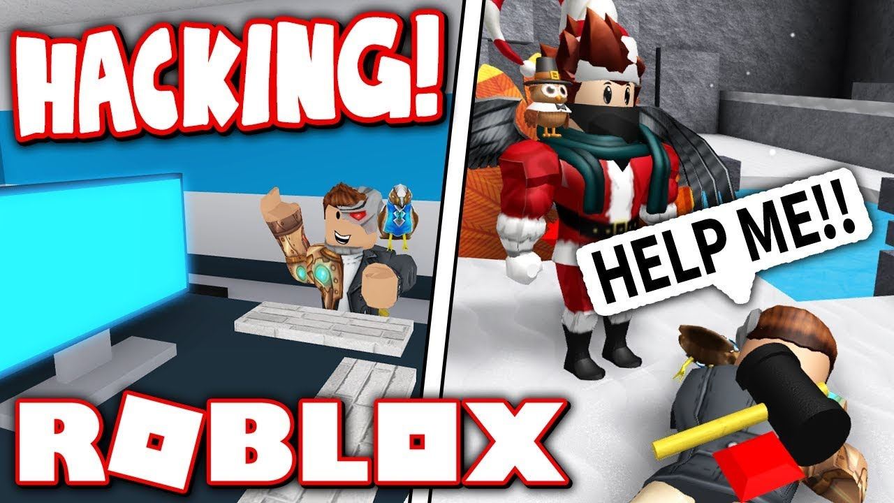 Hack Roblox And Run From Evil Santa Roblox Flee The Facility