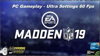 Madden Nfl 19 // PC Gameplay // Ultra Settings 60 Fps